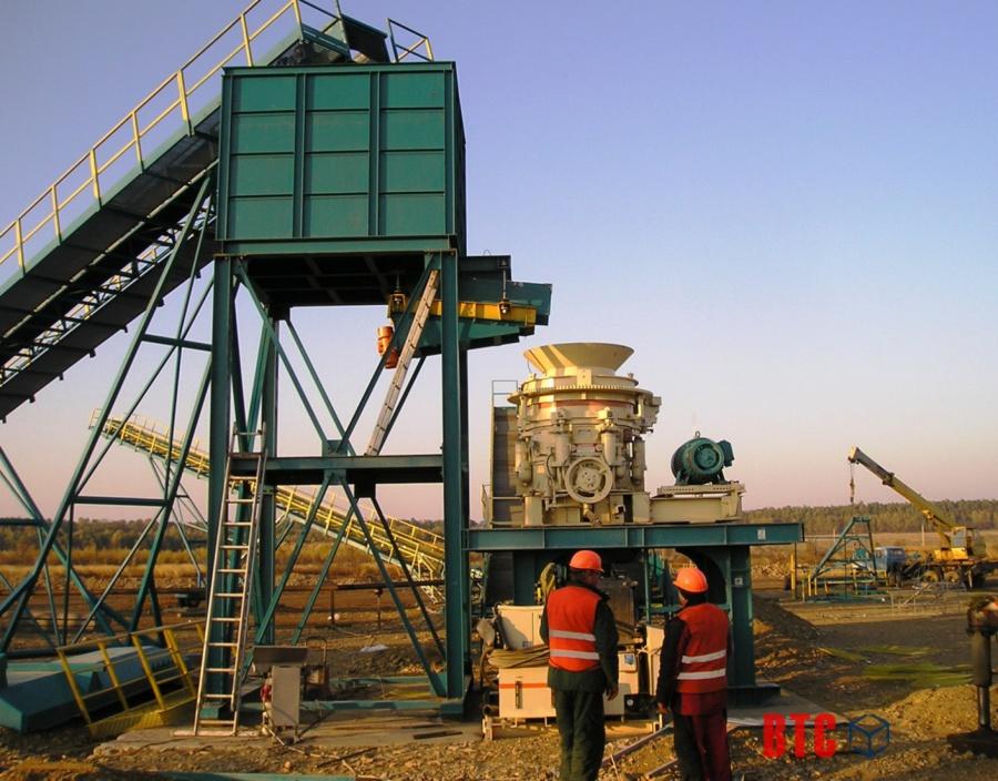 Металлоконструкции бункеров и грохотов